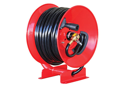ECO HOSE REEL INCLUDES ATOMIZER+ SPRAY GUN