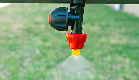 ARAG Air Induction Spray Nozzles Reduce Spray Drift - Silvan